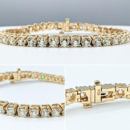 "Bracelet Tennis 8.00ctw Diamonds 14ky 7"" 121090082"