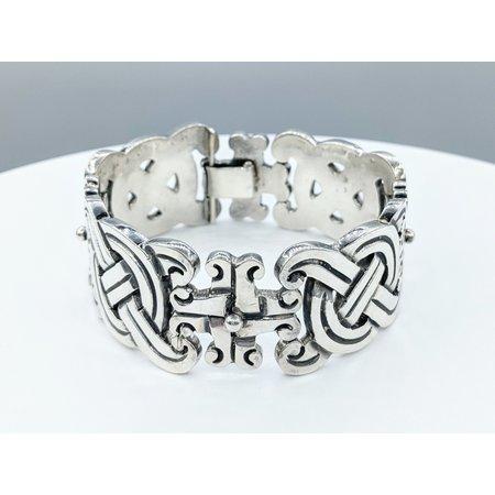 """Bracelet Taxco William Spratling Silver 7.5"""" 221090073"""