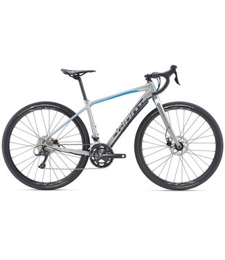 Giant Giant ToughRoad SLR GX 2 (2019) Brushed Aluminum/Vibrant Blue/Charcoal