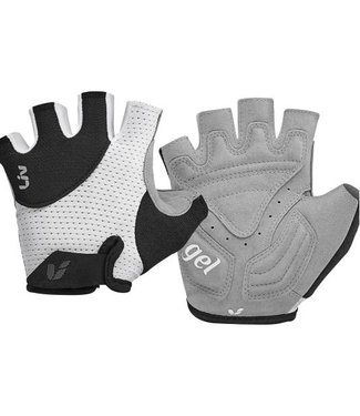 Liv Liv Passion Short Finger Gloves White