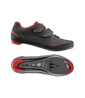 Giant Giant Bolt Road Shoe Nylon SPD/SPD SL Sole Black/Red