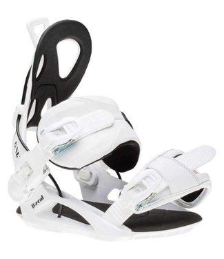 GNU B-Real Snowboard Bindings White