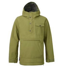 Burton Burton Sawyer Anorak Jacket Medium Algae
