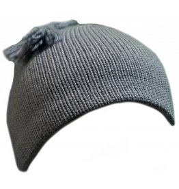 Turtle Fur Tassel Hat Slate