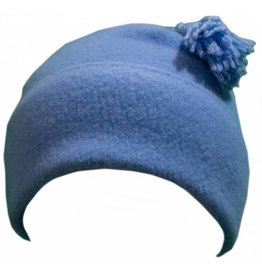 Turtle Fur Tassel Beanie French Blue