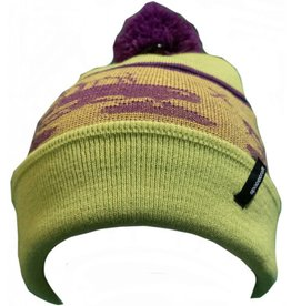 Spacecraft SpaceCraft Snowcat Pom Neon Yellow Hat