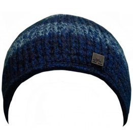 Spacecraft SpaceCraft Striped Knit Hat Blue