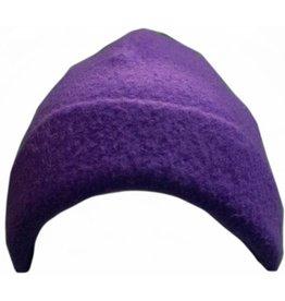 Turtle Fur Beanie Purple