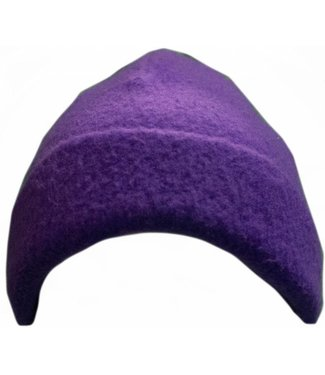 Turtle Fur Beanie Purple