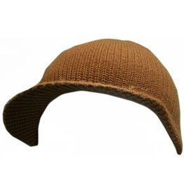 Fur Brim Ski Hat Rust