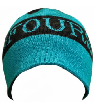 FourSquare Scroll Beanie Blacktop
