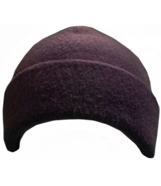 Turtle Fur Beanie Purple Night