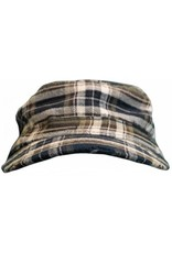 Bula Bula Lumber Cap Black Plaid