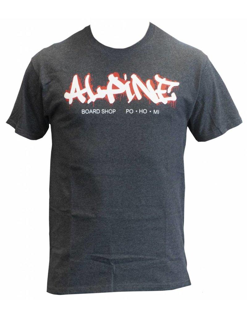 Alpine T-Shirt Heather Gray