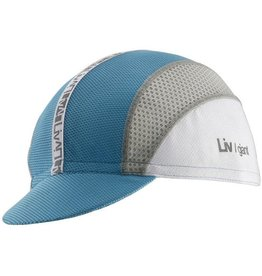 Liv LIV TransTextura Cycling Cap OSFM Aqua/White/Gray