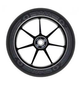 District 7 Spoke Wheels 120mm x 28mm Black 88A