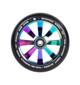 Revolution Supply Co. 16 Spoke Wheels 120mm Oil Slick/ Black