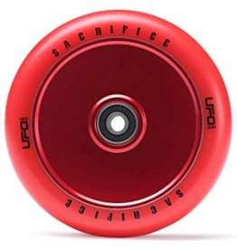 UFO Sacrifice Full Core 120mm Wheels Red