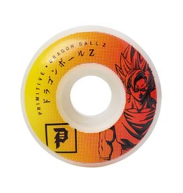 Primitive Dragon Ball Z Goku 52mm Wheels