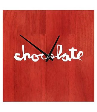 Chocolate Stained Oak Wall Clock