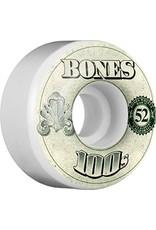 Bones 100's OG 52mm Wheels