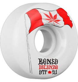 Bones Decenzo  Flowers STF V2 51mm Wheels