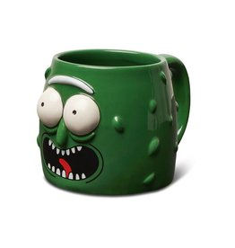 Primitive Pickle Rick Molded Mug
