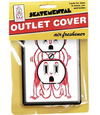 Skate Mental Outlet Cover Air Freshener