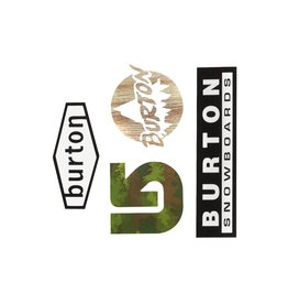 Burton Burton Throwback Sticker Pack