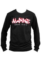 Alpine Long Sleeve T-Shirt Black