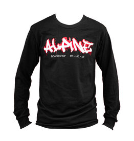 Alpine Long Sleeve T-Shirt Black