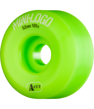 Mini Logo A-Cut 52mm 101a Wheels Green