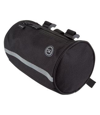 Sunlite Handlebar Roll Bag Black w/ Reflective Liner
