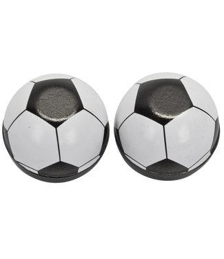 Tricktopz Valve Caps Soccer Ball Pair
