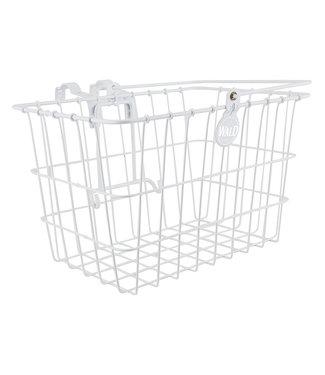 Wald Basket 3133 Lift-Off White w/Bracket