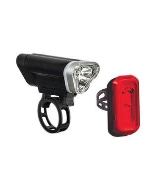Dayblazer 400 Front + Click USB 20 Rear Light Set Black
