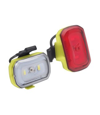 Click USB Front + Rear Light Set Red