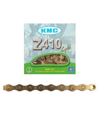 KMC Z410 Chain Gold 1/2x1/8 1s