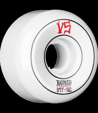 Bones STF V5 Annuals Pin Sidecut 52mm Wheels White