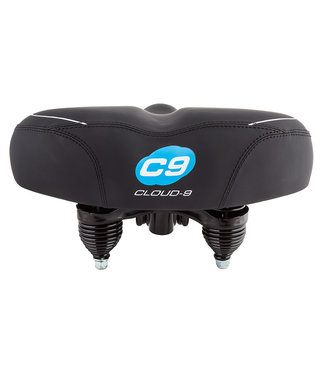 Cloud-9 Cruiser-Ciser Soft Touch Vinyl Saddle Black