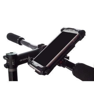 Delta Smart Phone Holder HBar Mount Caddy XL Black