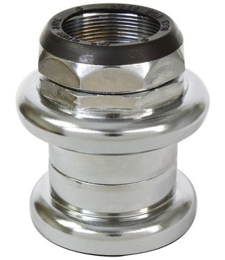 "Sunlite Headset Steel Threaded 1-1/8""x25.4x34x30 Chrome Plated"