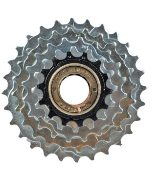 Sunrise M2A Freewheel 5 Speed 14-28 Index Chrome Plated/Black