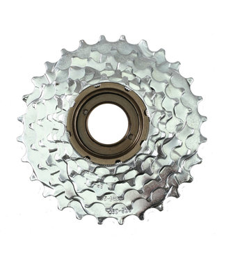 Sunrace Freewheel 6 Speed 14-28 Index Silver
