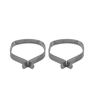 Sunlite Steel Leg Band Pair