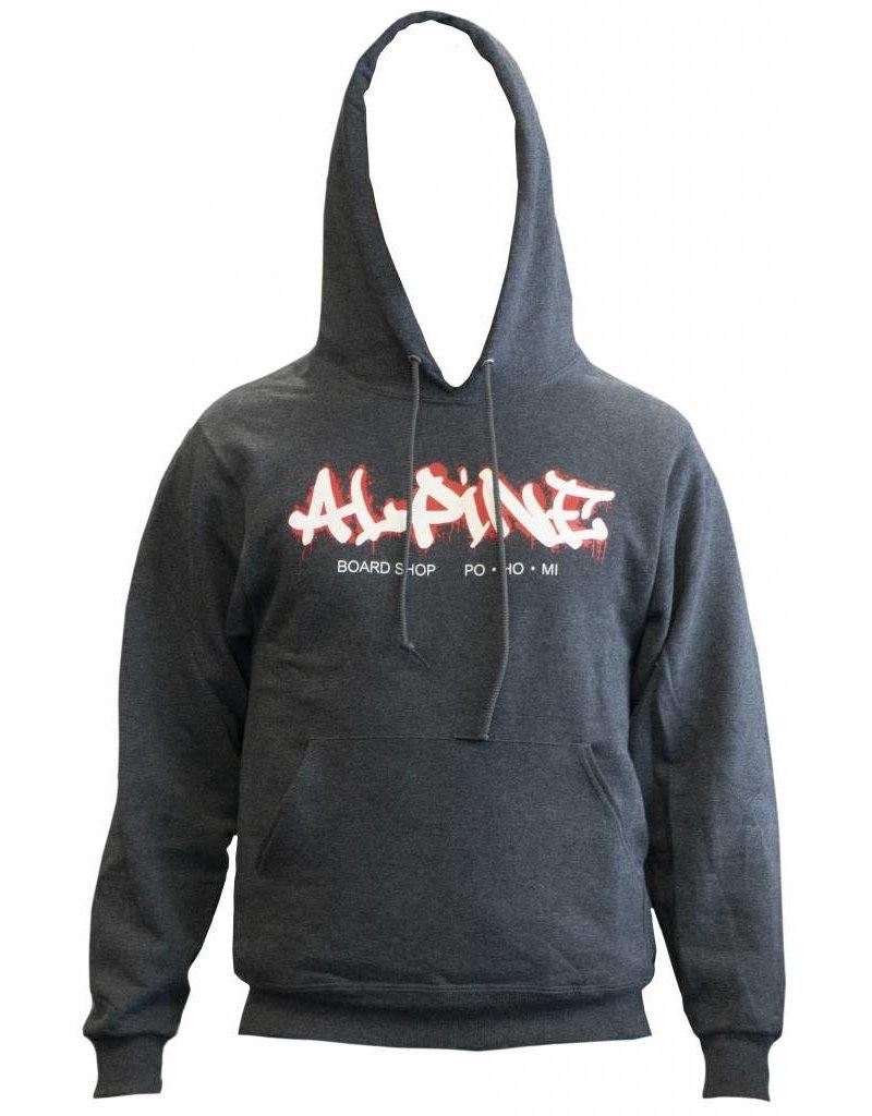 Alpine Hoodie Heather Gray