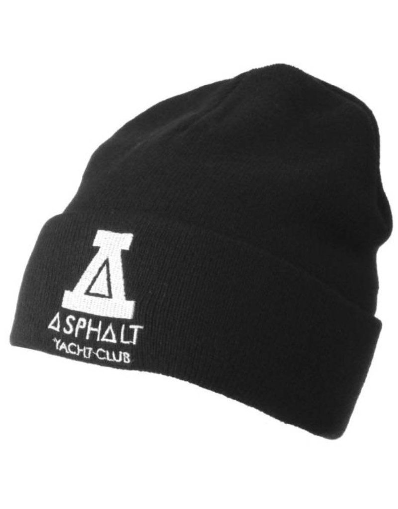 Asphalt Yacht Club Black Logo Hat