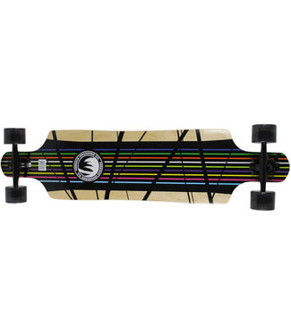 "Paradise ""Prism"" Drop Through Longboard Complete"