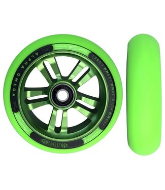 AO Hulk Wheel Pair 28mm X 110mm Green