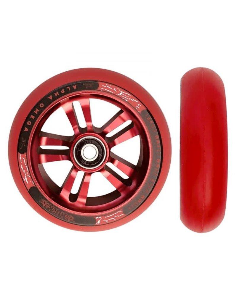 AO Hulk Wheel Pair 28mm X 110mm Red